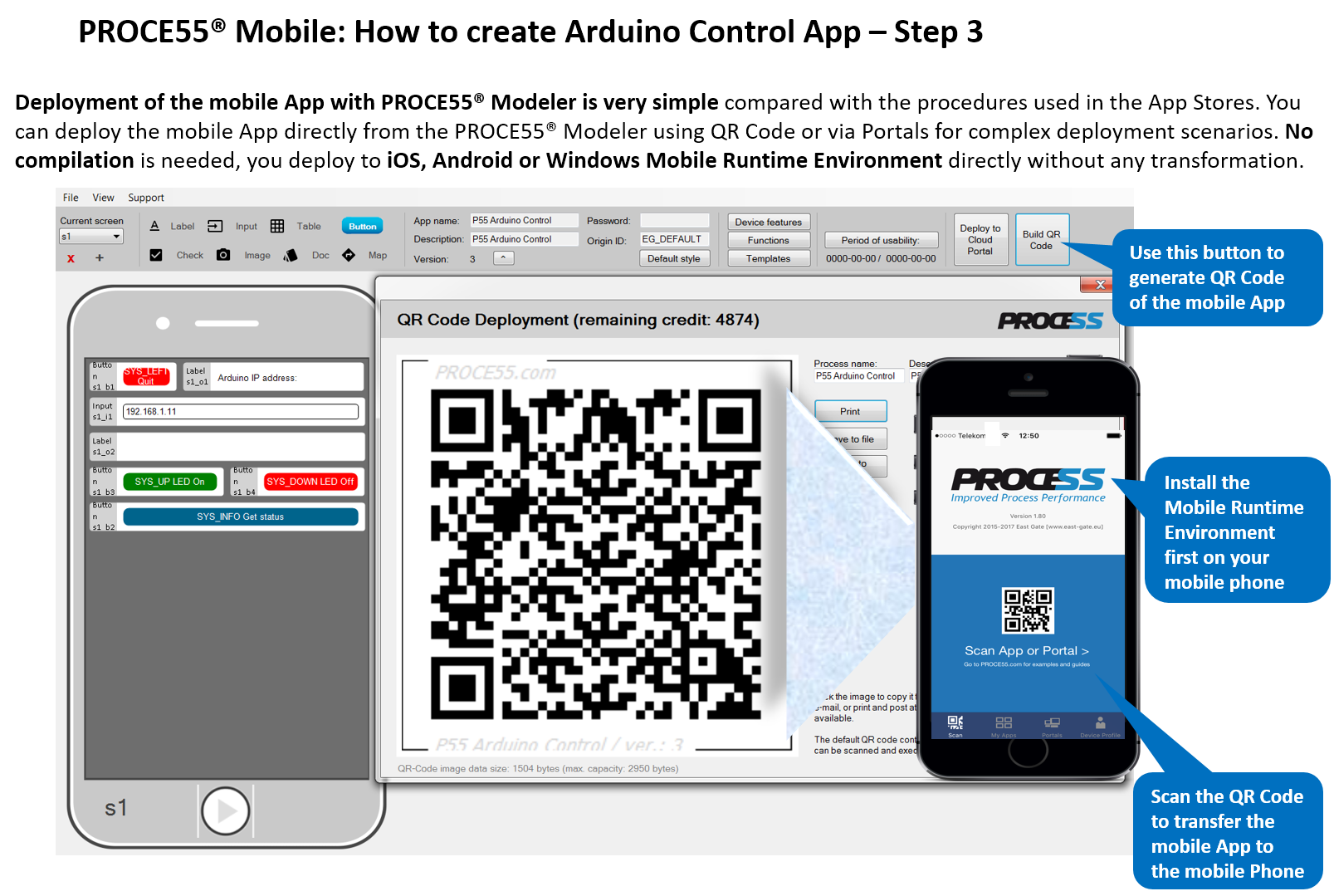 PROCE55 com - Mobile App Development and Deployment Framework